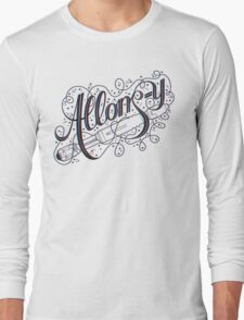 Allons-y! (3D) Long Sleeve T-Shirt