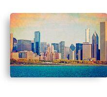 Vintage Chicago Canvas Print