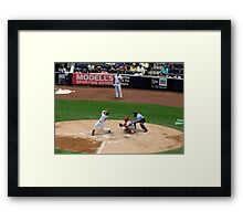Foul Ball Framed Print