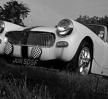 Classic MG Midget by Pastis