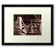 Rigging of the Great Neva Framed Print