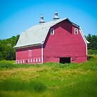 Big Red Barn by Christy Patino