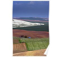 Patterns In The Palouse. Poster