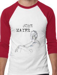 John Mayer Men's Baseball ¾ T-Shirt