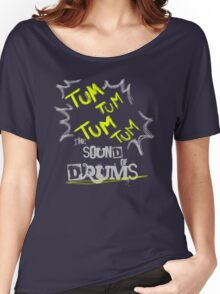 DRUMS Women's Relaxed Fit T-Shirt