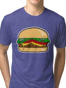 cheeseburger Tri-blend T-Shirt