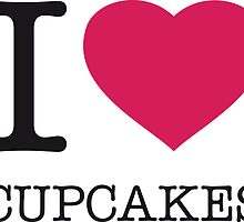 I ♥ CUPCAKES by eyesblau