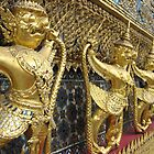 Garuda and Nagas at the Temple of the Emerald Buddha by Mary-Elizabeth Kadlub