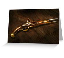 Gun - Pistols at dawn Greeting Card