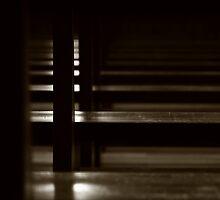 The church - inside #1 by Ronny Falkenstein