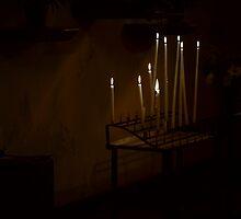 The church - inside #2 by Ronny Falkenstein