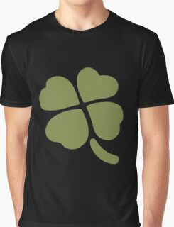 Four leaf clover emoji Graphic T-Shirt