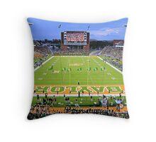 Baylor Touchdown Celebration Throw Pillow