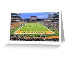 Baylor Touchdown Celebration Greeting Card