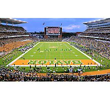 Baylor Touchdown Celebration Photographic Print