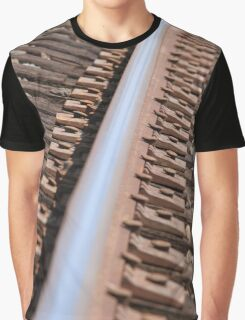 Train Track Graphic T-Shirt