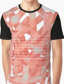 brush type Graphic T-Shirt