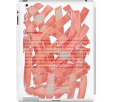 brush type iPad Case/Skin