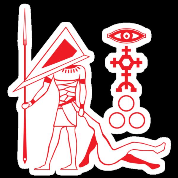 Pyramid Glyph by Baznet