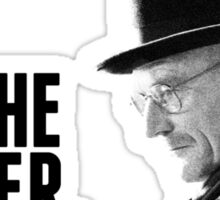 Breaking Bad: I am the danger. Sticker