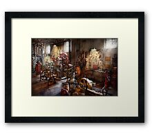 Machinist - A room full of memories  Framed Print