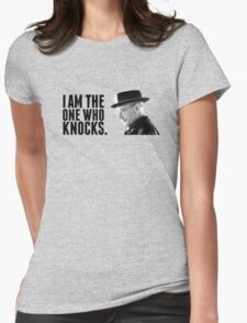 Breaking Bad: The one who knocks. Womens Fitted T-Shirt