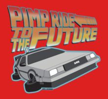 Pimp Ridin' to the Future Kids Clothes