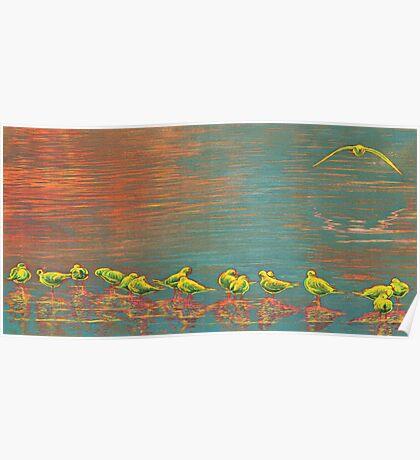 Ethnical birds VII Poster