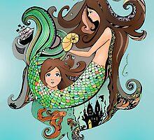 the little mermaid by deedeedee123