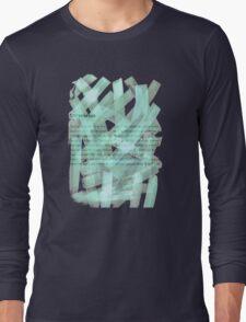 brush type green Long Sleeve T-Shirt