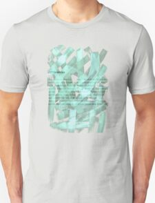 brush type green T-Shirt