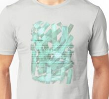 brush type green Unisex T-Shirt