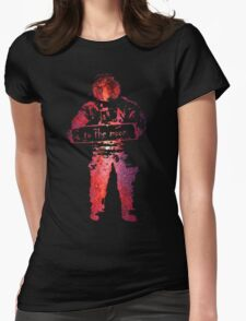 star filled Womens Fitted T-Shirt