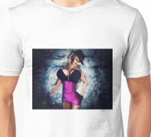 Mob Moll Gangsters Bride Unisex T-Shirt