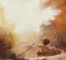 Walking The Dog by Ben Jelfs