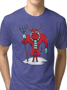 Cold Day in Hell Tri-blend T-Shirt