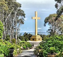 The Cross on the Mount by Larry Lingard-Davis