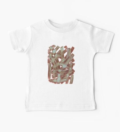 brush type brown Baby Tee