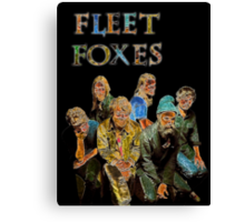 Fleet Foxes Canvas Print