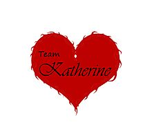 Team Katherine Photographic Print