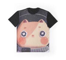 Cat Astro Graphic T-Shirt