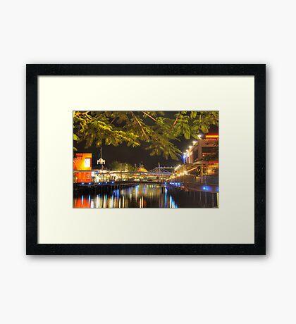 sunshine plaza  Framed Print