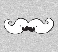 This moustache has it's own moustache!  by Domsbubble
