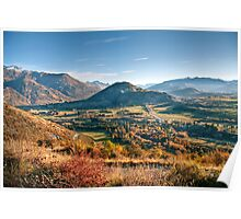 The View from Crown Peak Road Poster