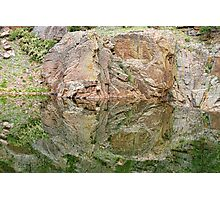 Reflections in the Colorado Rocky Mountains  Photographic Print