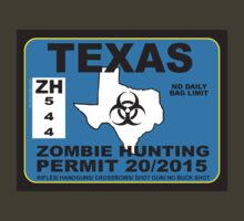 Texas Zombie Hunting Permit  by BUB THE ZOMBIE