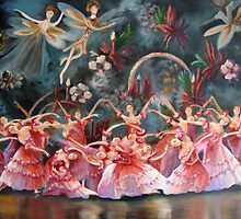 the Russian national ballet theatre of Moscow.. by Almeida Coval