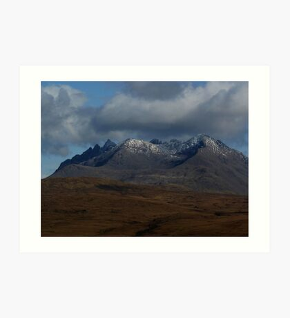 The Black Cuillin - Isle of Skye Art Print