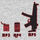Mp3 Mp4 Mp5 by BUB THE ZOMBIE
