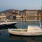 View of Trogir, Croatia at dawn by borjoz